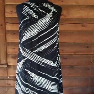 Alfani dress..nice black & wh flattering design